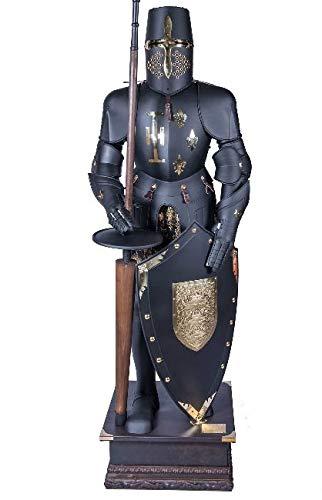 Disfraz de caballero pico medieval de armadura coleccionable