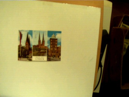 Postkarte: Gruss aus Lübeck,