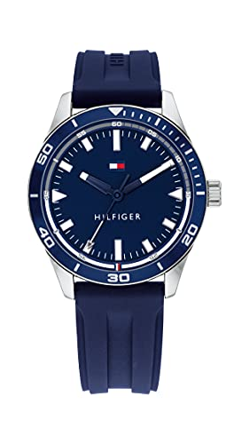 Tommy Hilfiger Analog Blue Dial Men's Watch-TH1791821W