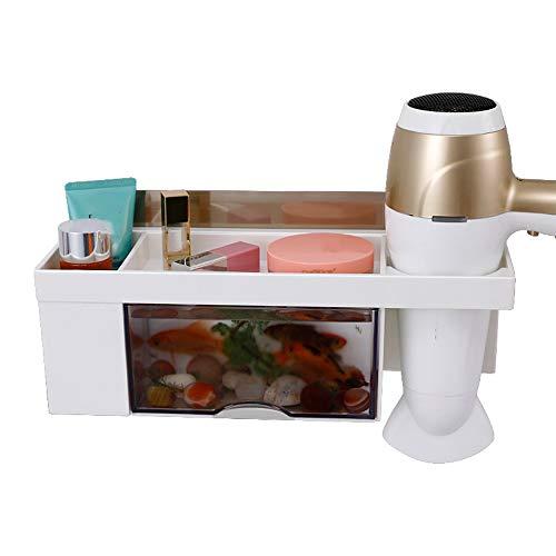 ZZHF yushizhiwujia Supports, articles de toilette Électroménagers Étagère de vanité Étagère de salle de bain Toilette Rangement Sèche-cheveux