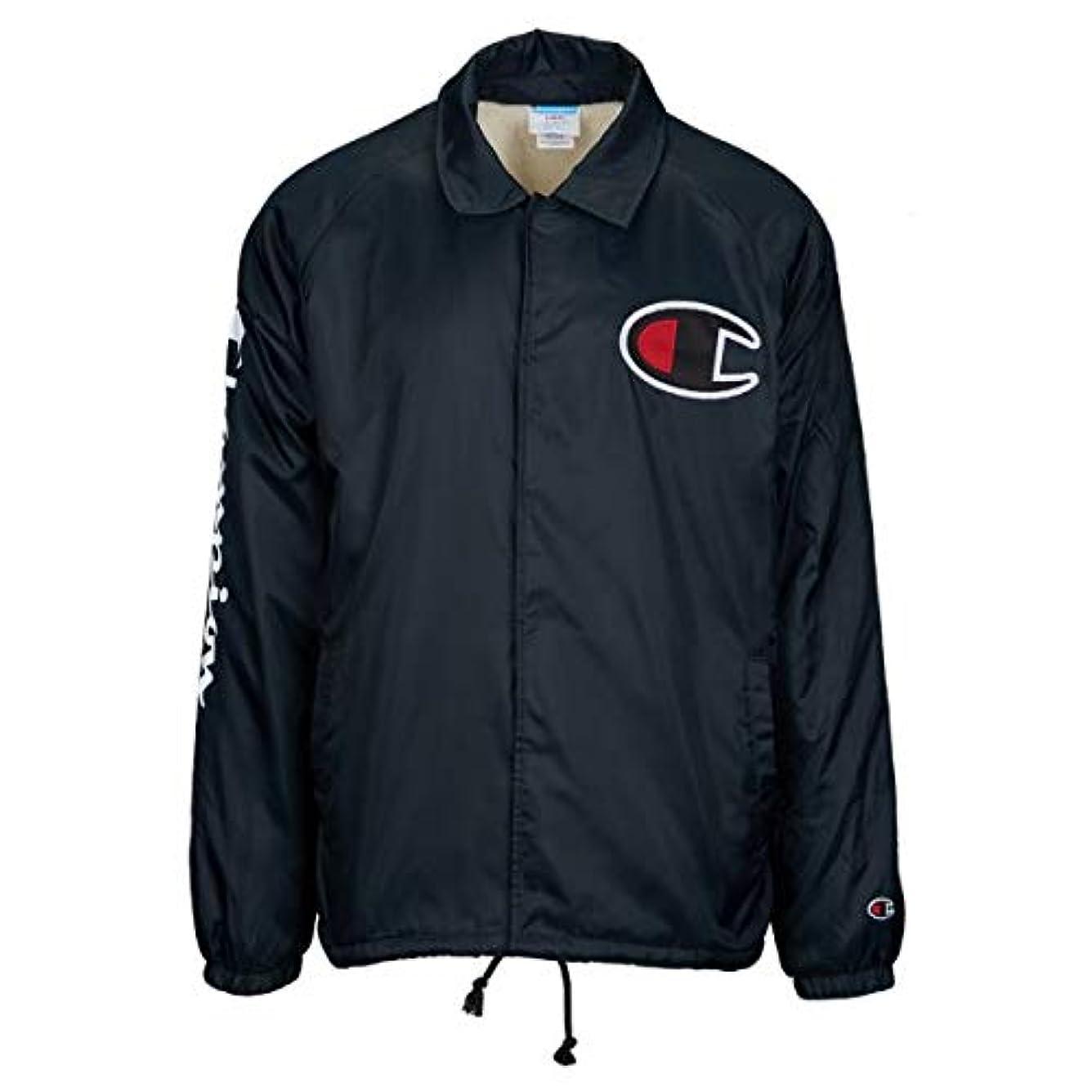 知るシェル音声(チャンピオン)Champion C Logo Sherpa Lined Jacket メンズ ジャケット?トレーナー [並行輸入品]
