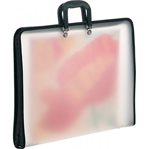 AMI 678212 - Transportmappe Toledo - transparent - für das Format 50 x 70 cm - aus Polypropylen
