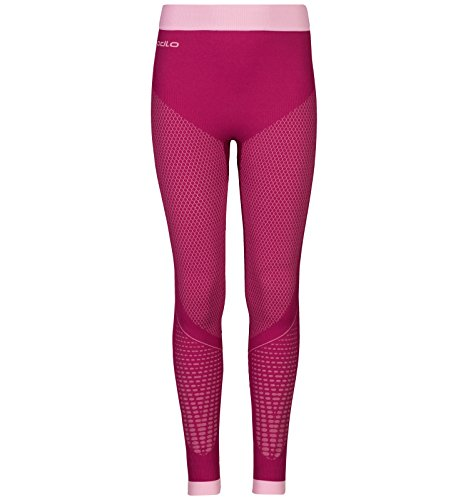 Odlo Evolution Warm, Collants Enfants, bébé, Evolution Warm, Rosso (Rosso)