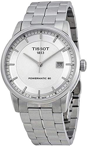 Tissot Luxury Automatic Silver Dial Mens Watch T0864071103100: Watches