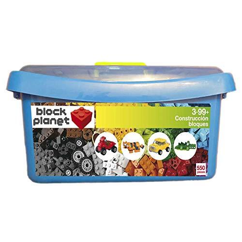 PT Caja Bloques compatibles con Lego 550 Piezas