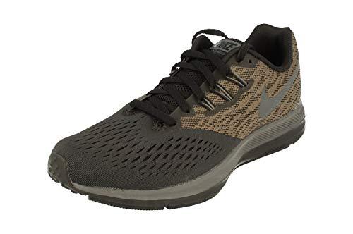Nike Zoom Winflo 4, Men's Running Shoes, Grey (Pure Platinum/Black/Hyper Roya 010), 11 UK (46 EU)