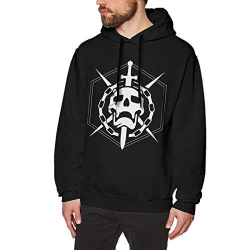 maichengxuan Destiny 2 Herren Hoodies Sweatshirt Pullover Langarm Hoodies Casual Sweatshirts Gr. XXXL, Schwarz