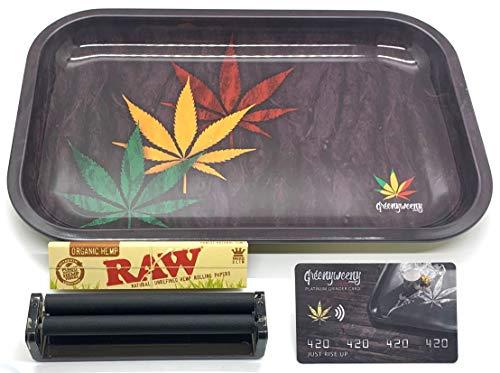 "Full Size Rolling Tray Bundle – 11.5"" x 7.5"
