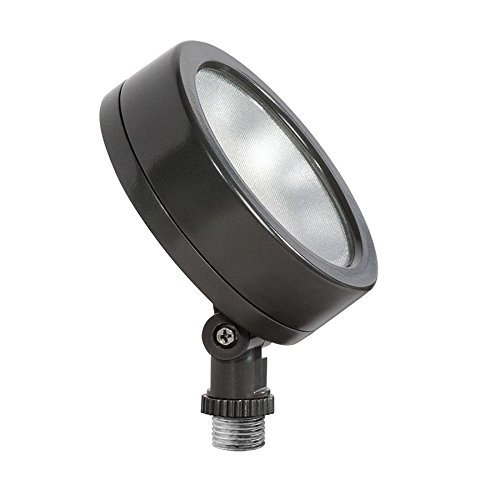 Rab LES13 Economical Leslie LED Flood Light Fixture 13 Watt 120 Volt 5000K Cool Bronze