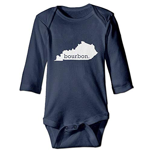 SDGSS Kentucky Bourbon - Ropa para bebé (Manga Larga, 6-24 m) Azul Marino 6 Meses