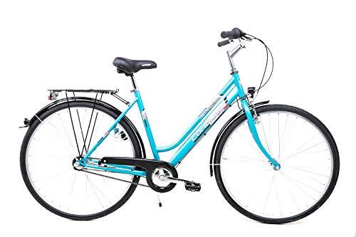 28 Zoll Fahrrad Damen City Bike Shimano 3 Gang Nexus Rücktritt STVZO