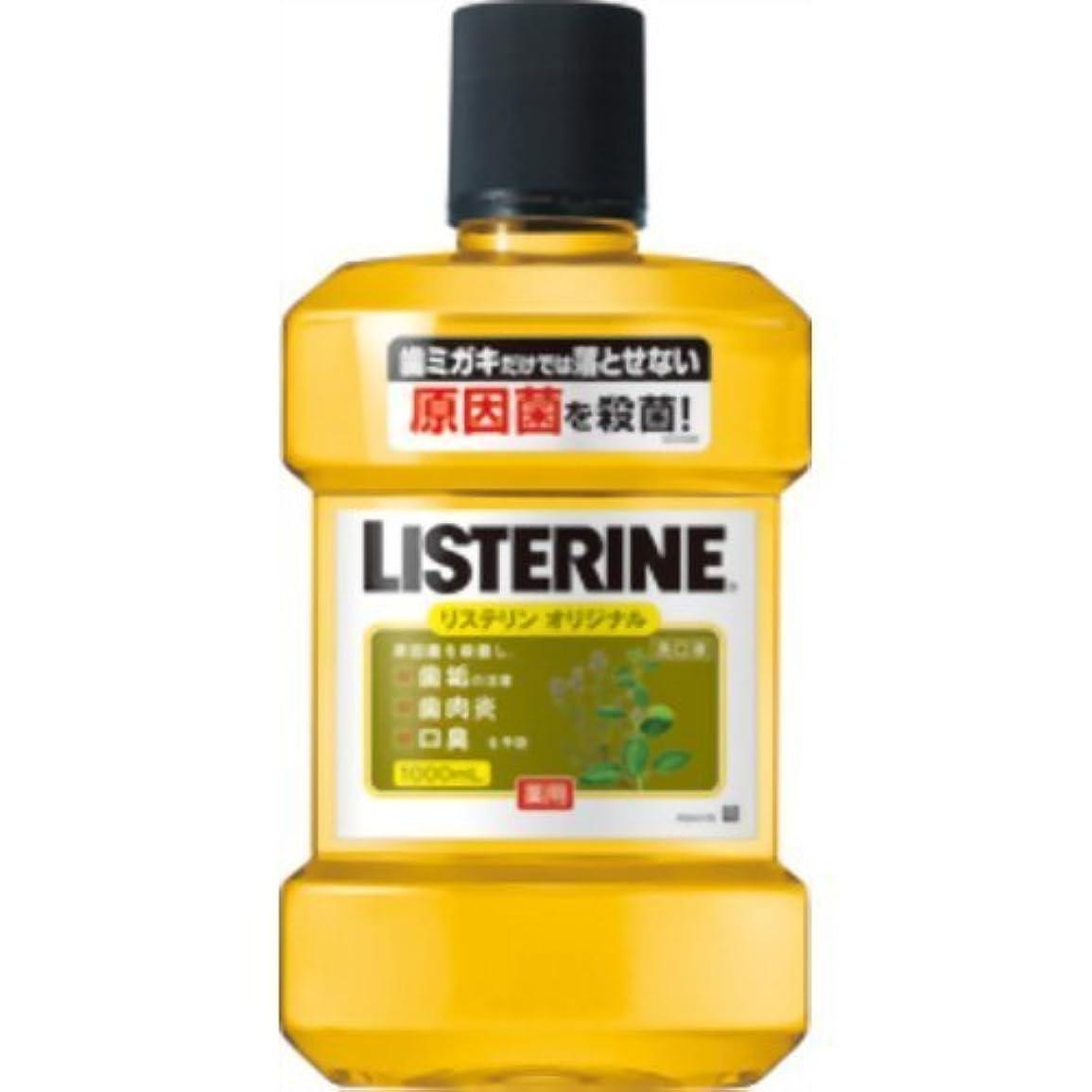 口実冊子モディッシュ薬用リステリン オリジナル 1000ml ×10個セット