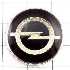 限定 レア ピンバッジ オペル黒いロゴ車 ピンズ フランス