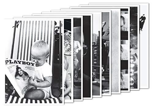 10er-Set: Postkarten A6 +++ MIX SET Nr. 1 von modern times +++ 10 schöne SCHWARZ-WEISS-Motive +++ perfekt für POSTCROSSING +++ ohne deutschen Text!