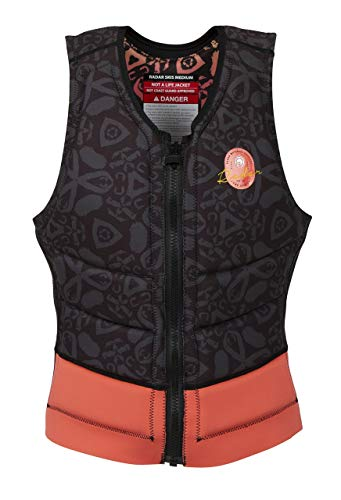 Radar Lyric Women's Reversible NCGA Impact Vest - Black/Coral - S