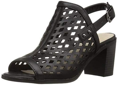 Easy Street Women's Erin Heeled Sandal, Black, 5 M US