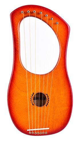 CQOQ Arpa De 7 Cuerdas Arpa Un Instrumento De Arpa De Arpa D
