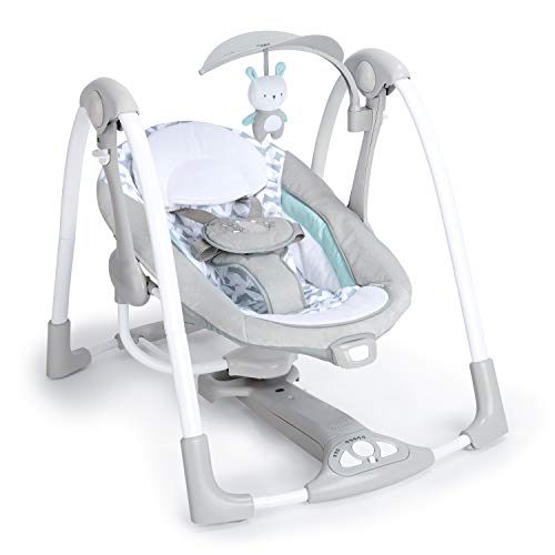 41T10W4O68L The Best Fully Reclined Baby Swings for 2021 Review