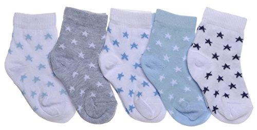 WB Socks 5 Paar Sternmotiv Babysocken