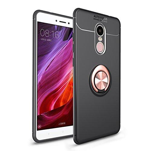 LUCKY Funda XiaoMi Redmi Note 4X Case, 360 Grados Caso Carcasa Case Cover Skin...