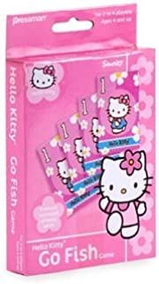 Pressman Toys - Hello Kitty Go Fish Card Game by Sanrio