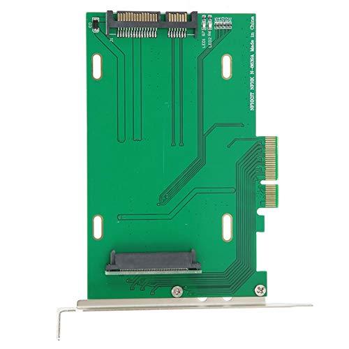 Tomanbery Carte Adaptateur Haute Performance SSD vers PCI ‑ E X4 Carte Adaptateur PCI ‑ E X4 Durable Adaptateur réseau Carte Adaptateur SSD Compatible avec Intel 750 pour SSD NVMe