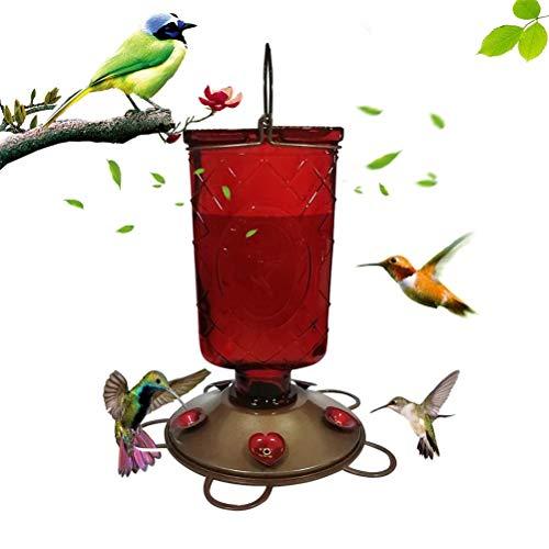 Katyma Vögel Wasserspender hängend Vogeltränke Garten Bird Park Handkolibri Trinker Food Dispenser Drinker Feeder für Kleine bis Mittelgroße Vögel