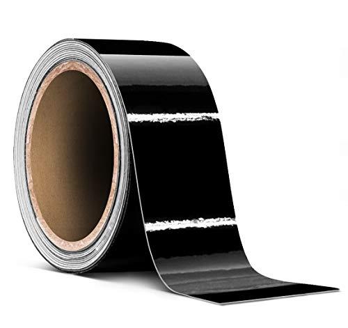 3M Chrome Delete Gloss Black Self-Adhesive Tape 2 Inches x 20 Feet Roll