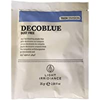 Light Irridiance Tech Decoblue Dust Free - Polvo decolorante azul compacto, sobre 35gr
