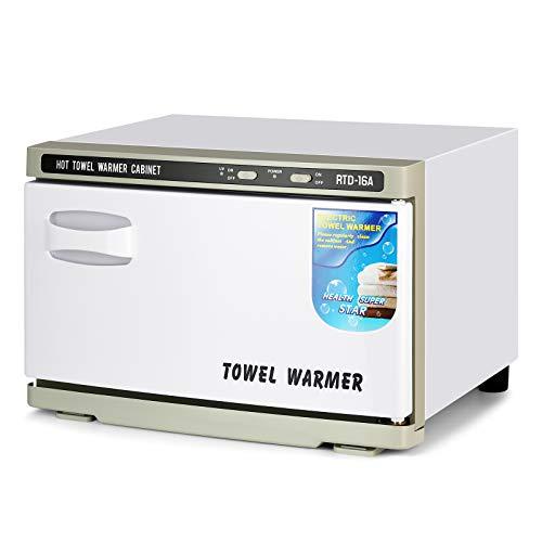 Hot Towel Warmer Salon Towel Hot Cabinet for Facials Barber Esthetician, Spa Beauty Tattoo Massage Manicure Equipment (16L)