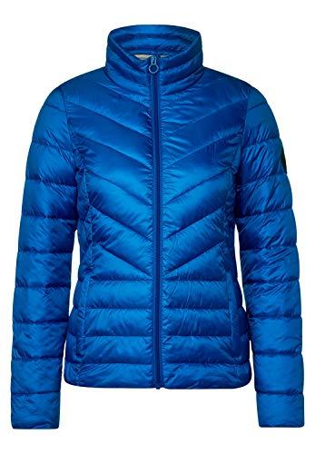 Cecil Damen Sportive Stepp-Jacke super Blue S