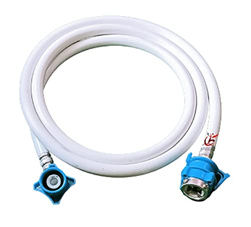 KHC Washing Machine Inlet Hose Pipe with Tap Adaptor for Fully...