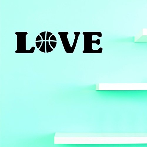 Design with Vinyl Top Selling Decals Love Basketball Wall Art