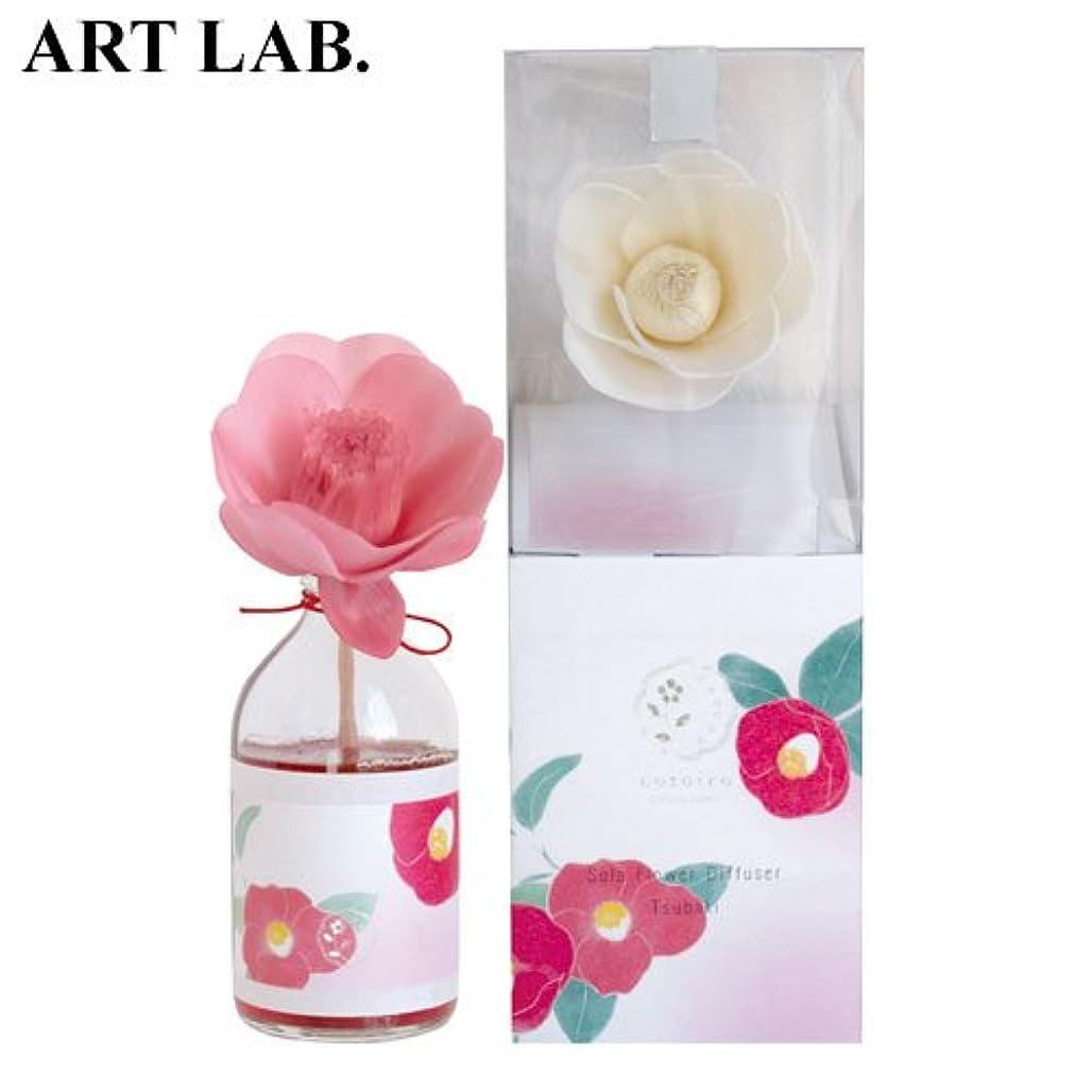 回るに賛成農学wanokaソラフラワーディフューザー椿《おしとやかで深みのある香り》ART LABAroma Diffuser