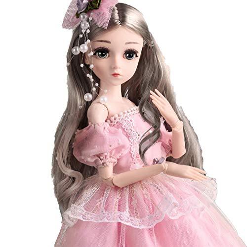 Seii Prinsessdocka leksaker modedocka 45,72 cm verklighetstrogen delikat docka present till barn rationell överallt