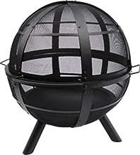 Landmann USA 28925 Ball of Fire Outdoor Fireplace, Black