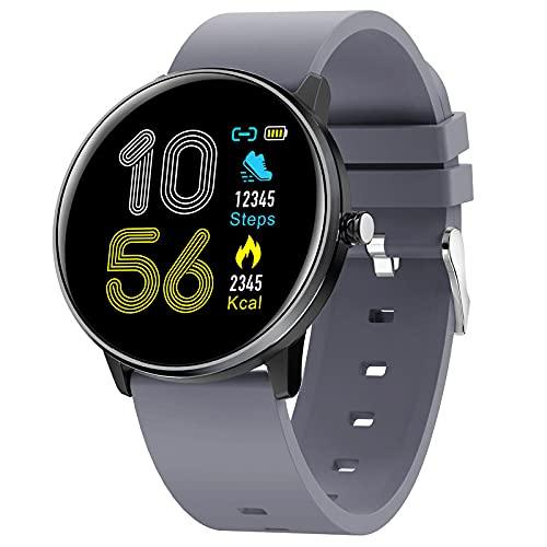 LSQ 2021 Smart Watch Hombres Mujeres Monitor De Ritmo Cardíaco IP68 Pulsera De Reloj Deportivo Impermeable,D