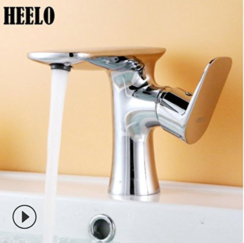 Bijjaladeva Wasserhahn Bad Wasserfall Mischbatterie Waschbecken Waschtisch2018 Das Flugzeug abgesenkt Schminkbereich mit heien und Kalten Hand Waschbecken Voll Kupfer