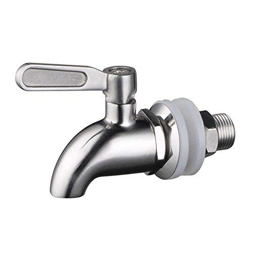 NOFDA 304 stainless steel polished finished product,Beverage Dispenser Replacement Spigot,fits Berkey and other Gravity Filter systems as well