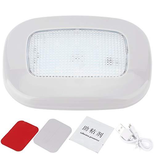 Auto leeslamp, Car Dome LED-licht Auto leeslamp Interieur kofferbakdak Plafondlamp Grijze behuizing