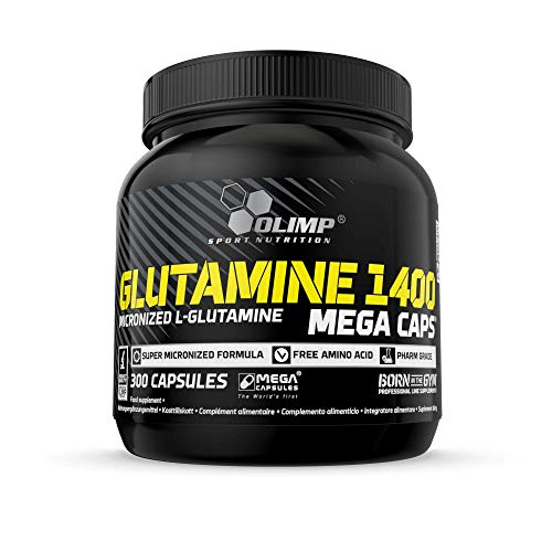 Olimp Glutamine 1400 Mega Caps, 300 Kapseln