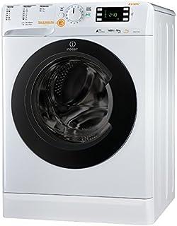 Indesit XWDE 1071481XWKKK EU Waschmaschine mit Wäschetrockner Frontlader, freistehend, Türanschlag links, Drehknöpfe, 71 l