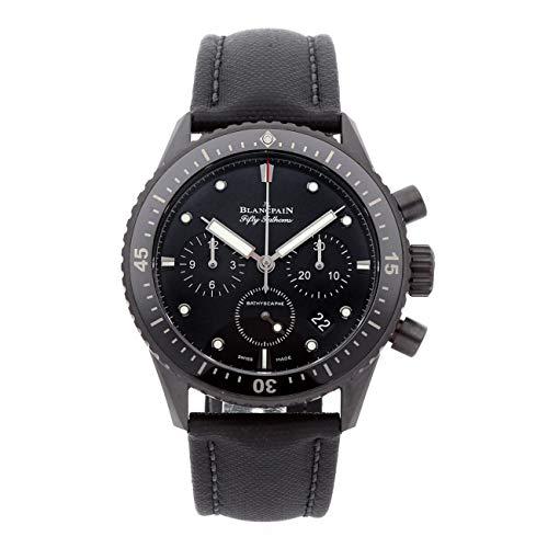 Blancpain Fifty Fathoms - Reloj mecánico para Hombre (automático), Esfera Negra, 5200-0130-B52A (Certificado prepropietario)