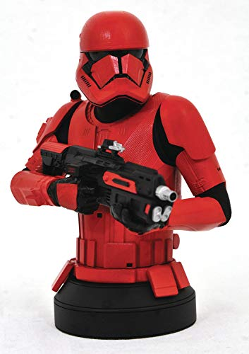 Gentle Giant Star Wars The Rise of Skywalker: Sith Trooper 1:6 Scale Mini-Bust, Multicolor, 6 inches image