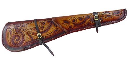 Scabbard Gewehrholster Holster Echt Leder gefüttert Winchester Gewehr braun