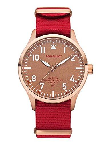 Pop Pilot Unisex Analog Quarz Smart Watch Armbanduhr mit Stoff Armband VCE