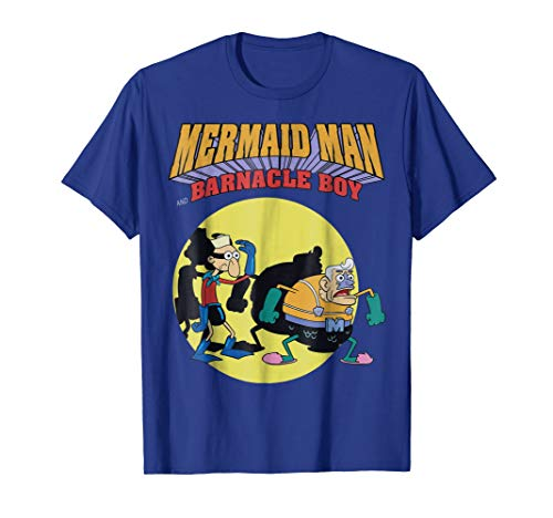 Nickelodeon Spongebob Mermaid Man T-Shirt