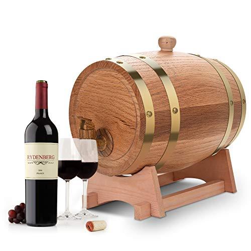 Botte di Vino In Rovere Contenitore del vino,Dispenser a vino botte legno,Dispenser per...