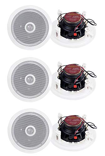 Pyle PDIC60 2 Way In Wall Speakers System review