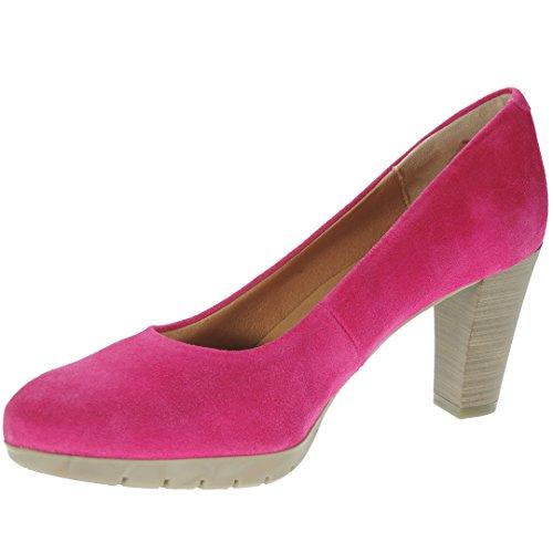 Desiree 2230V Zapato Salón Piel Serraje Tacón Ancho de 8 Cm y...